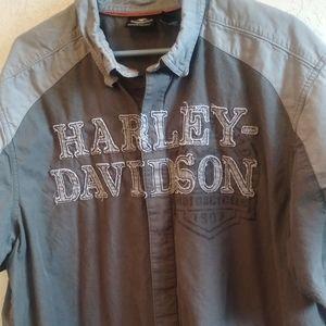 Harley Davidson short sleeve vintage